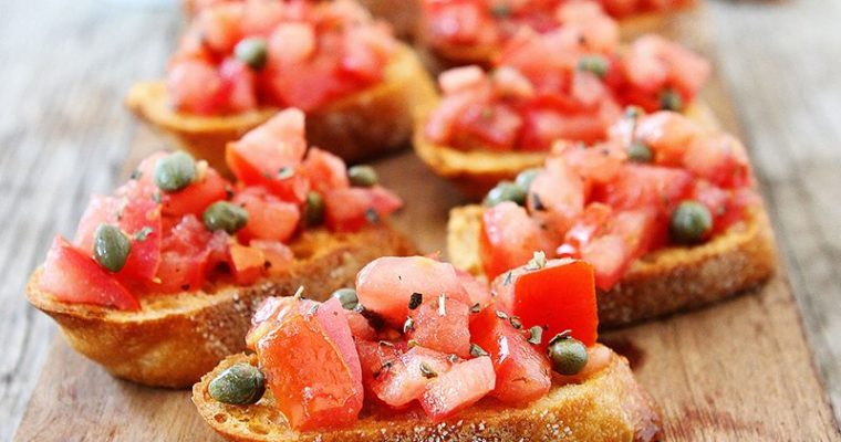 if you can't take the heat… bruschetta the kitchen